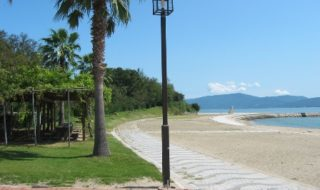 犬島海水浴場1