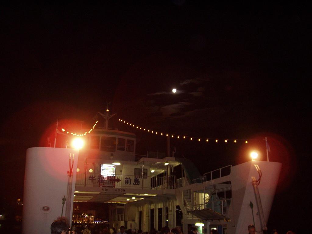 牛窓お月見クルージング