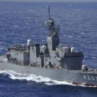海上自衛隊訓練支援艦「てんりゅう」